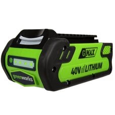 Аккумулятор Greenworks Li-Ion G-MAX 40V 2 Ач