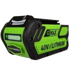 Li-Ion аккумулятор Greenworks G-MAX 40V 3Ah
