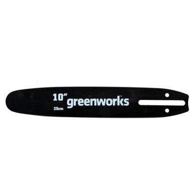 Шина цепной пилы Greenworks G-24V 25см
