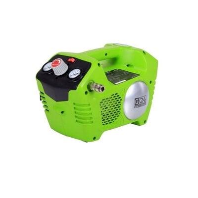 Аккумуляторный воздушный компрессор с 2л ресивером Greenworks G-24V