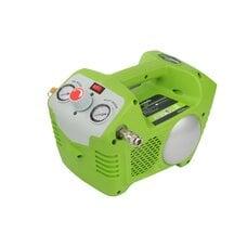 Аккумуляторный воздушный компрессор с 2л ресивером Greenworks G-MAX 40V G40AC