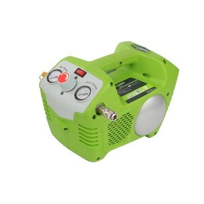 Аккумуляторный воздушный компрессор с 2л ресивером Greenworks G-MAX 40V