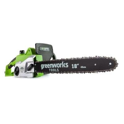 Электропила цепная Greenworks GSC2046 (20037), 2000W, длиной 46 см