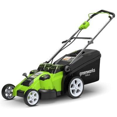 Аккумуляторная газонокосилка GreenWorks G40LM49DB (2500207), 40V, шириной 49 см
