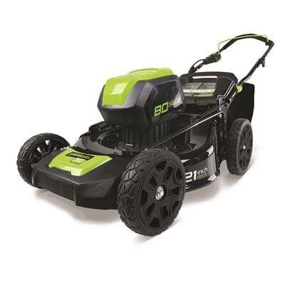 Аккумуляторная газонокосилка GreenWorks 80V PRO DigiPro 51 см