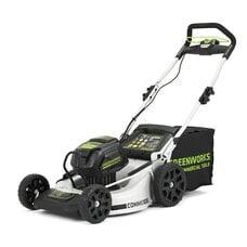 Аккумуляторная газонокосилка GreenWorks GC82LM51 (2502007) Commercial, 82V, шириной 51 см
