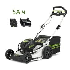 Аккумуляторная газонокосилка GreenWorks 82V Commercial DigiPro 51 см с АКБ 5 Ач и ЗУ