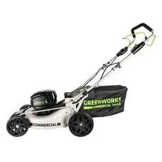 Самоходная аккумуляторная газонокосилка GreenWorks GC82LM46SP (2502507) Commercial, 82V, шириной 46 см