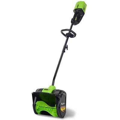 Аккумуляторная снежная лопата Greenworks 80V lithium max 30см