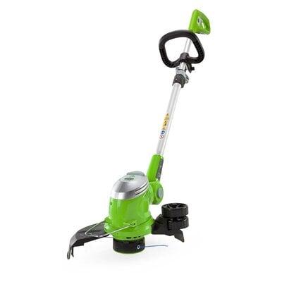 Электрический триммер Greenworks Deluxe 500W 30см